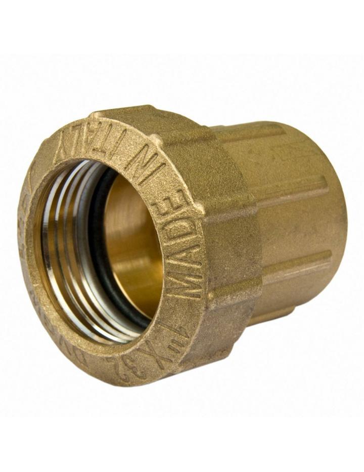 2 x PE Rohr Verschraubung Winkel,Bogen 32 x 32 mm DVGW Trinkwasser